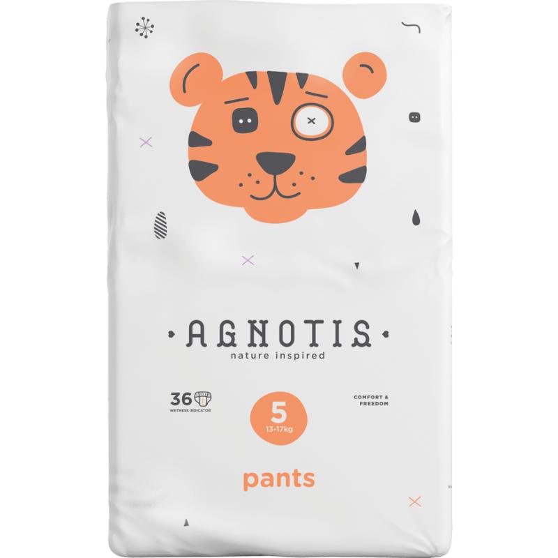 Πάνα βρακάκι AGNOTIS PANTS Ν5 (13-17Kg) 36ΤΕΜ