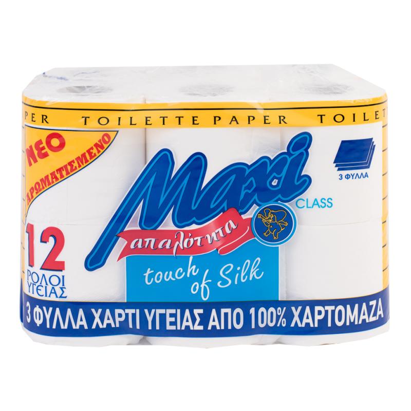 Χαρτί υγείας MAXI 3Φ DECO ΑΡΩΜΑ 12ΡΧ80gr