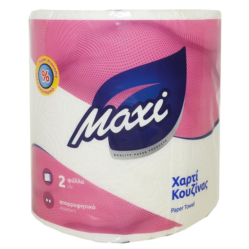 Χαρτί κουζίνας ΕΠΑΓ/ΚΟ MAXI 2Φ ΛΕΥΚΟ DESL 12ΡΧ300gr