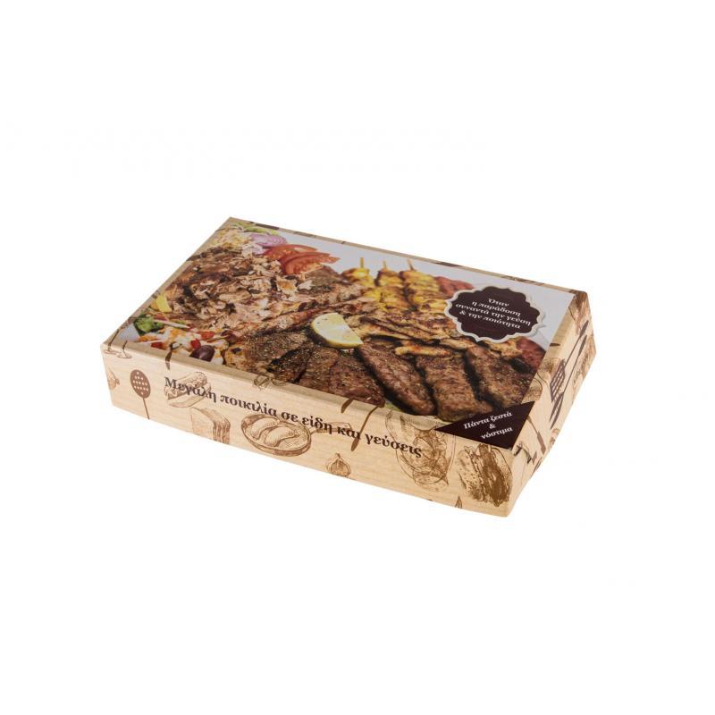Κουτί ψητ/λείου γύρος (μεσαία μερίδα) 10kg