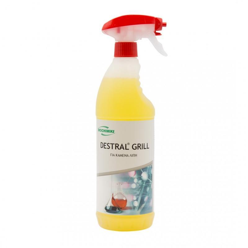 Λιποκαθαριστής σε spray αφρού DESTRAL GRILL 1 Lt