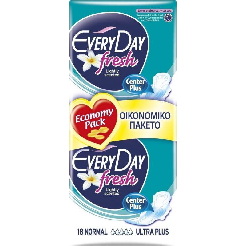 EveryDay Ultra Plus Fresh Normal 18 τεμαχίων