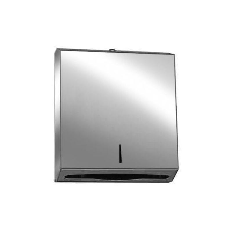 Επαγγελματική συσκευή χειροπετσέτας inox-304 γυαλιστερή