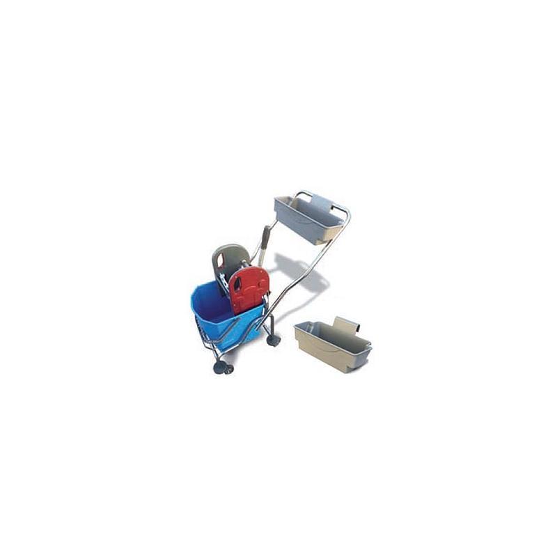 Καρότσι σφουγγαρίσματος μονό μεταλικό 25L