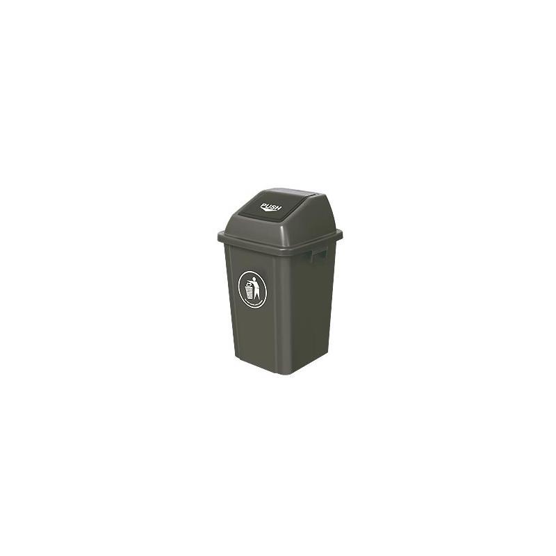 Κάδος απορριμάτων πλαστικός 60 Lt (push)
