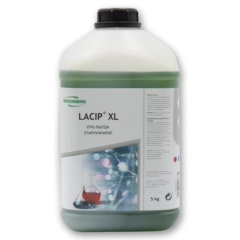 Υγρό πιάτων με συμπυκνωμέμνη σύνθεση LACIP XL (5 Kg)