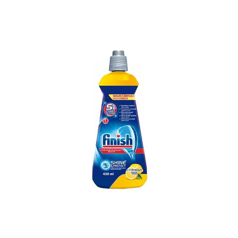 Λαμπρυντικό Πλυντηρίου Πιάτων Finish Λεμόνι 400ml
