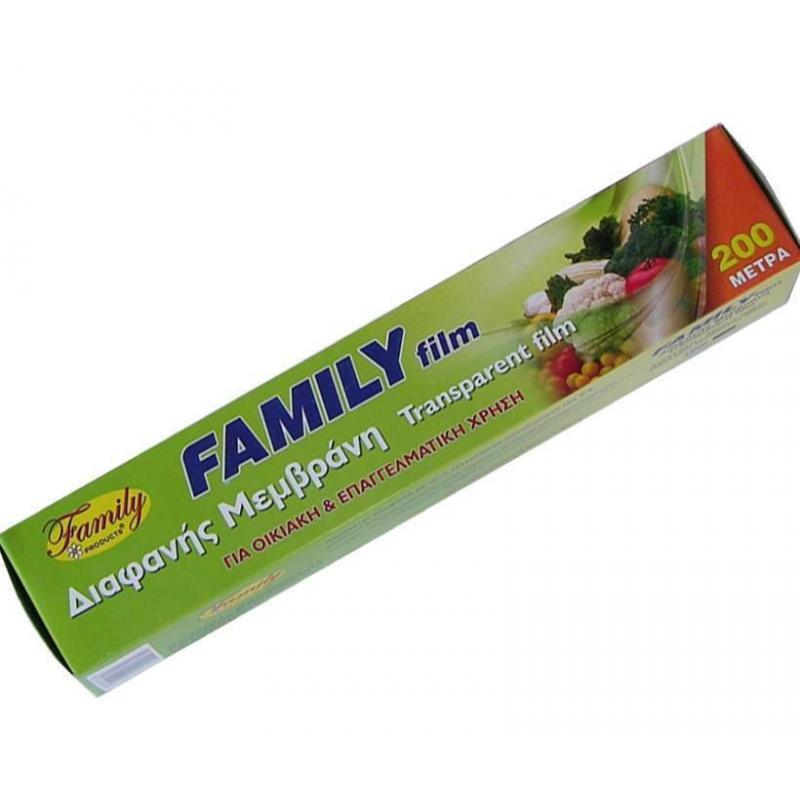 Μεμβράνη Family 200m 43cm κουτί μαχαίρι