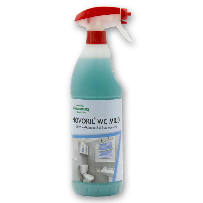 Καθαριστικό spray αφρού για να τα μπάνια NOVORIL® WC MILD 1 Lt