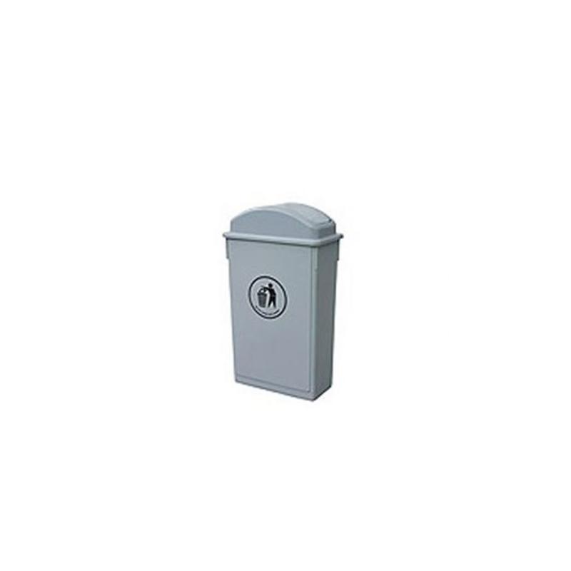 Κάδος πλαστικός 65 L με αιωρούμενο καπάκι