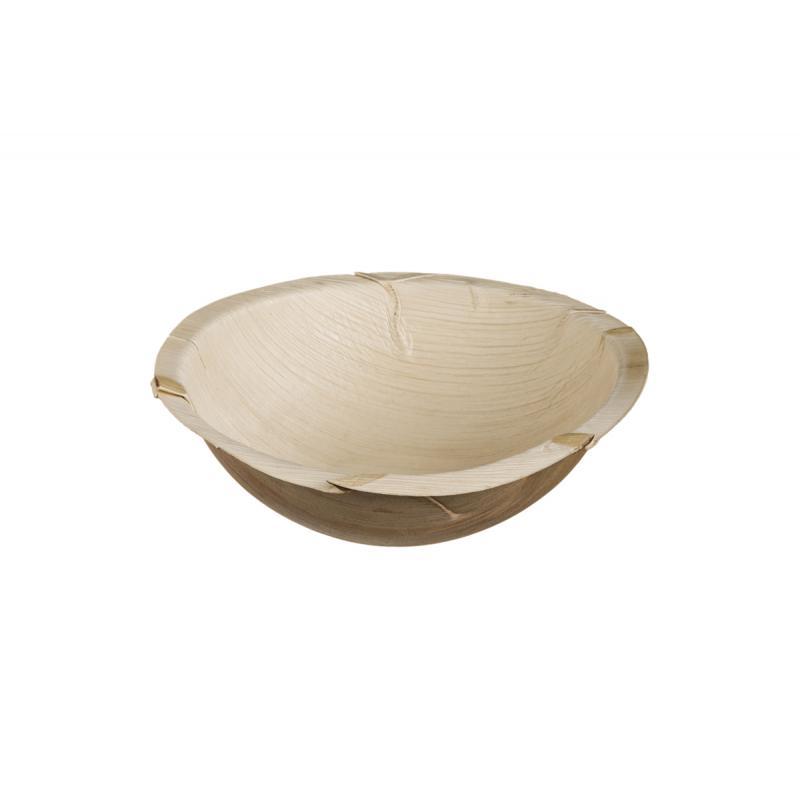 Μπωλ από φύλλα φοίνικα 22 cm (1250ml) 10τεμ
