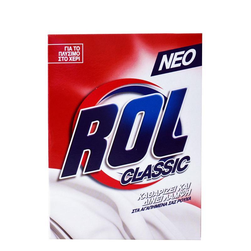 ROL Σκόνη για πλύσιμο ρούχων στο χέρι 380gr