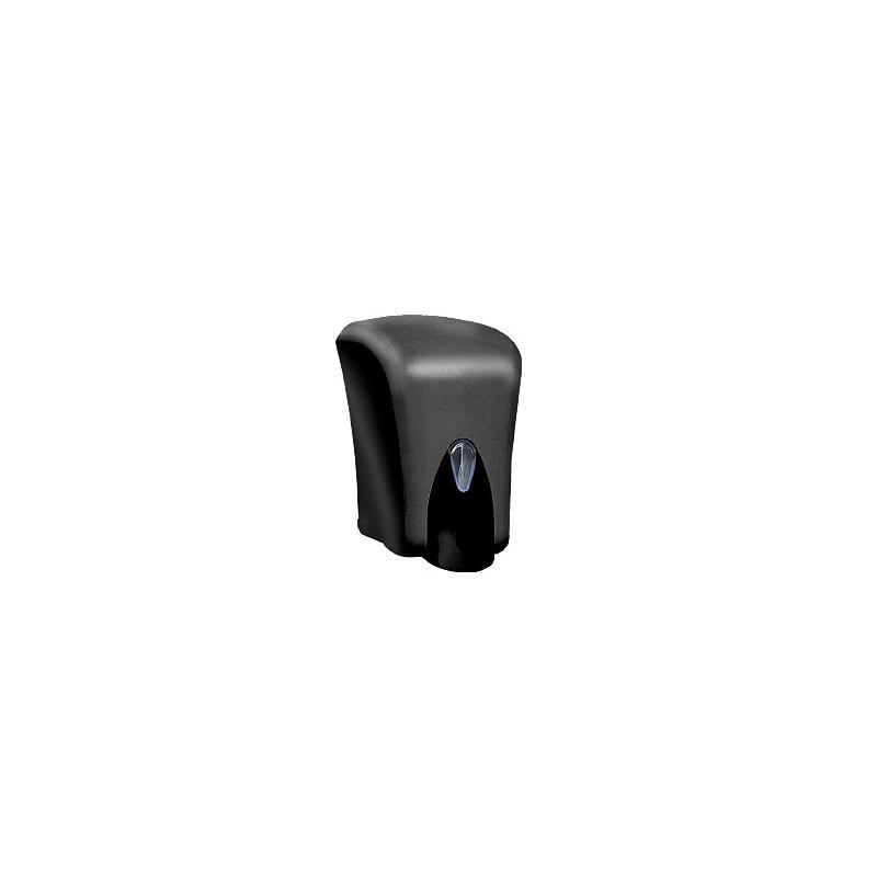 Συσκευή κρεμοσάπουνου πλαστική 1000 ml (μαύρη)
