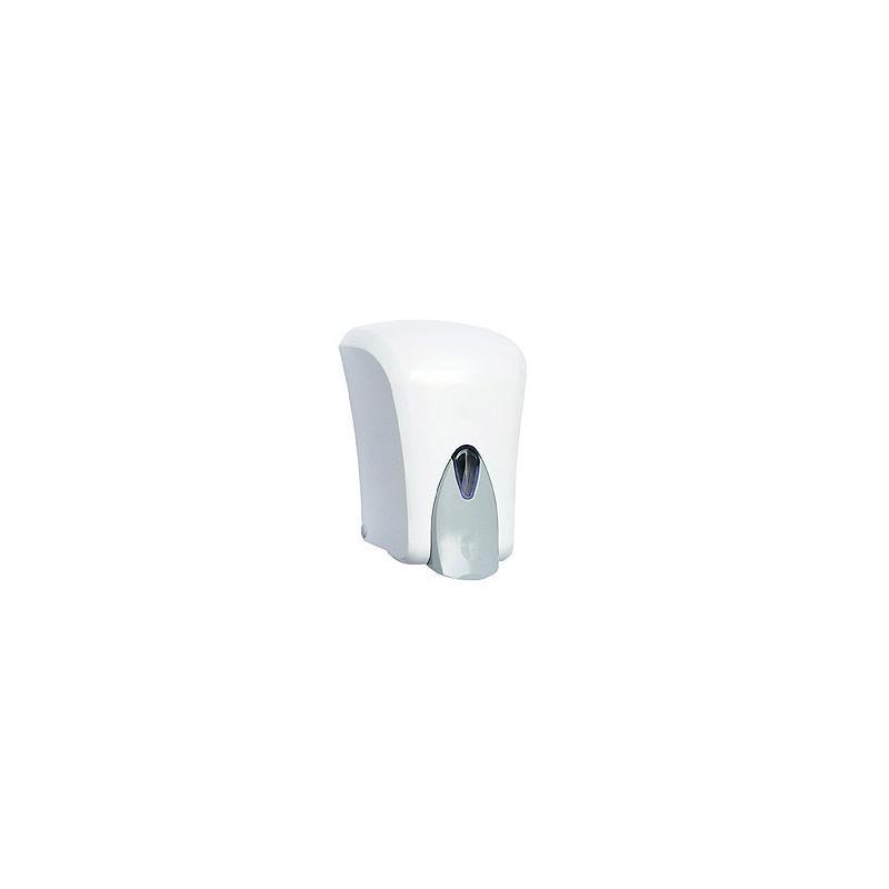 Συσκευή κρεμοσάπουνου πλαστική 1000 ml (λευκή)
