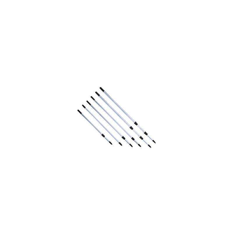 Κοντάρια πτυσσόμενα (2τεμ.) 240 cm